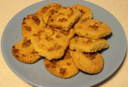 Biscotti rustici alle noci