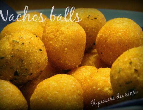 Nachos balls alla salvia e rosmarino