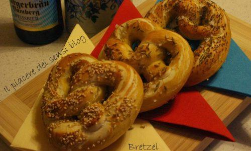 Bretzel o pretzel fatti in casa