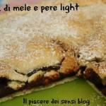 Torta di mele e pere light