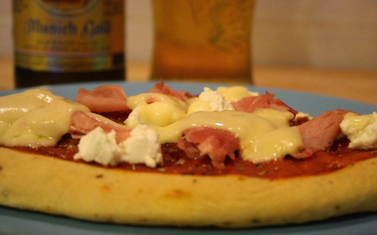 Pizza con mix di farine… affumicata!