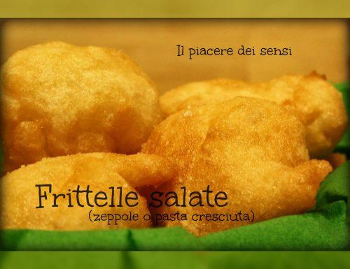 Frittelle salate (zeppole o pasta cresciuta)