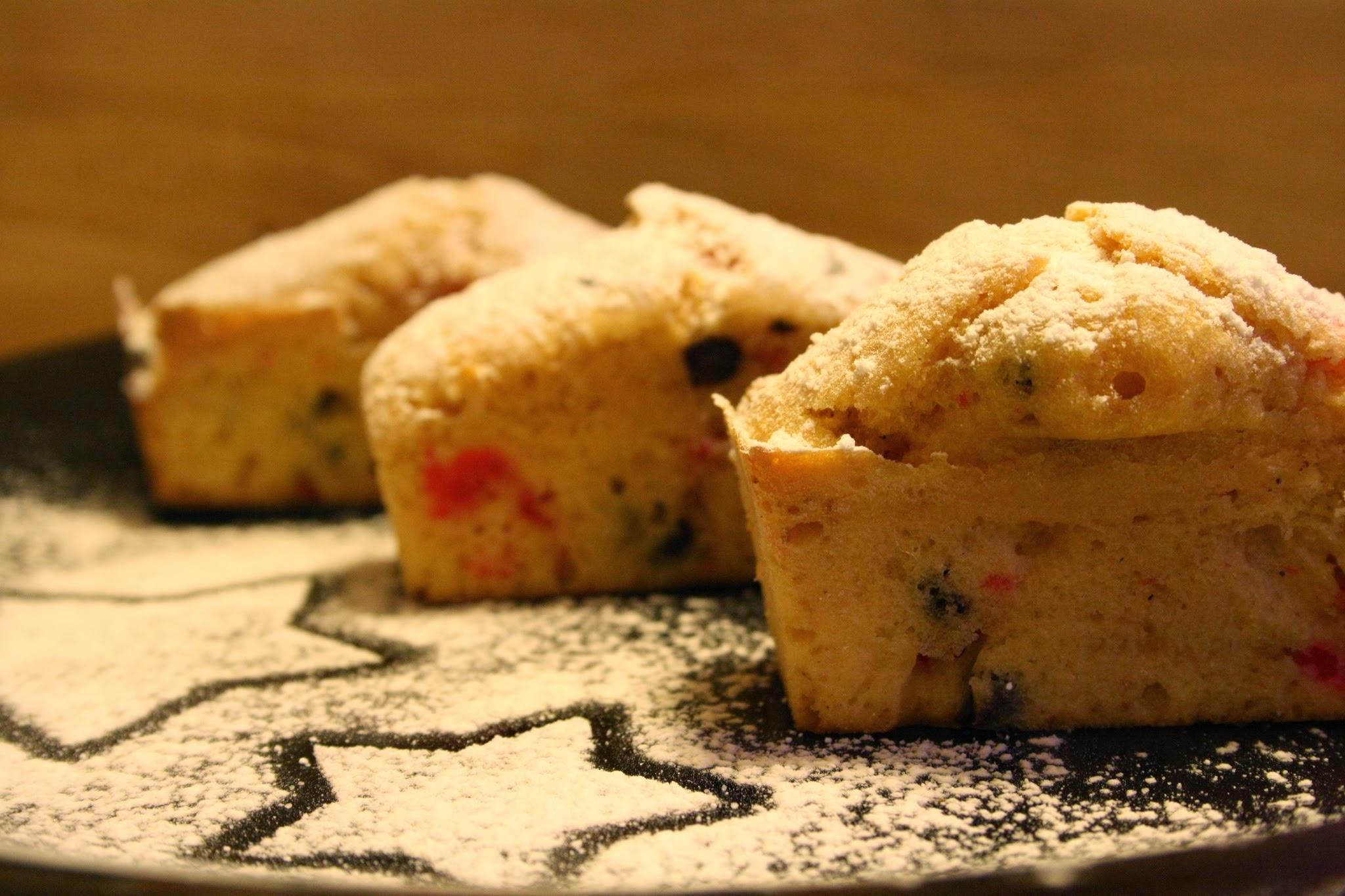Plumcherry, dei morbidissimi plumcake con ciliege e cioccolato fondente