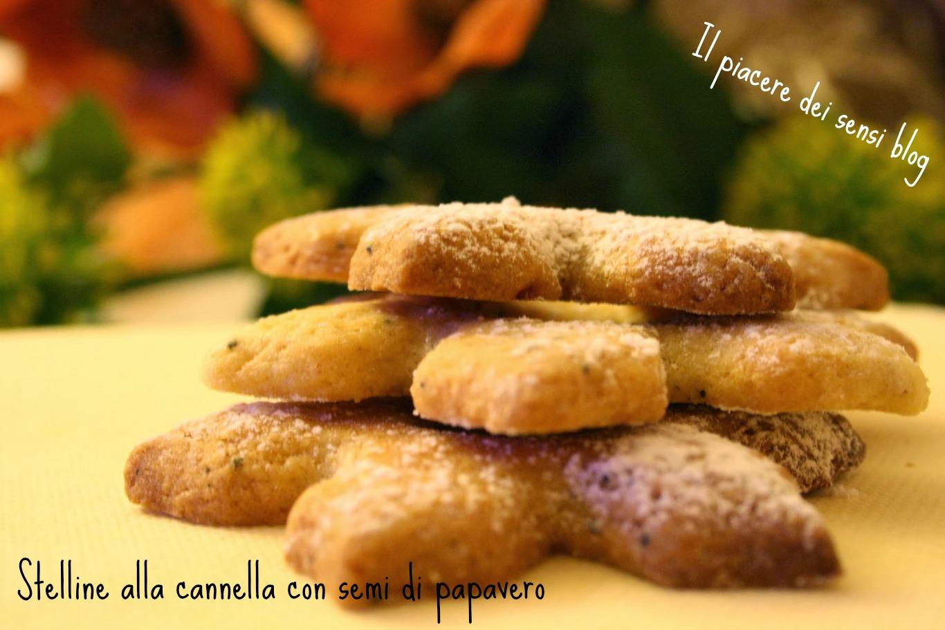 Biscotti semi di papavero