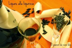 liquore alla liquirizia home made