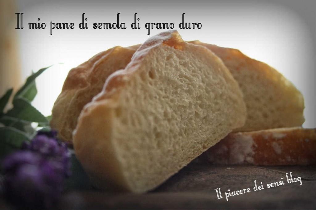 Il mio pane di semola di grano duro