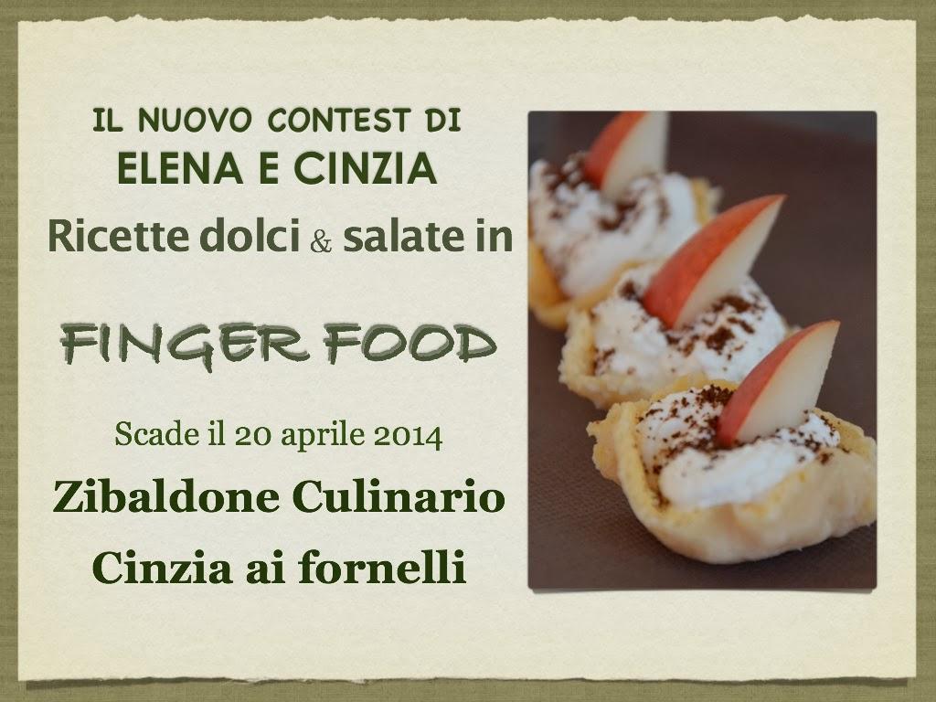 ricette dolci & salate in finger food