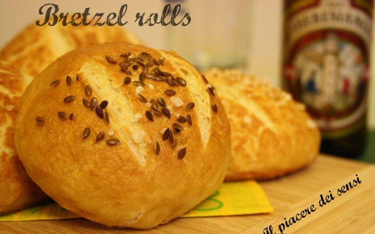 Bretzel rolls