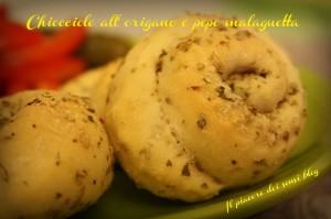 Chiocciole di pane all' origano e pepe malaguetta