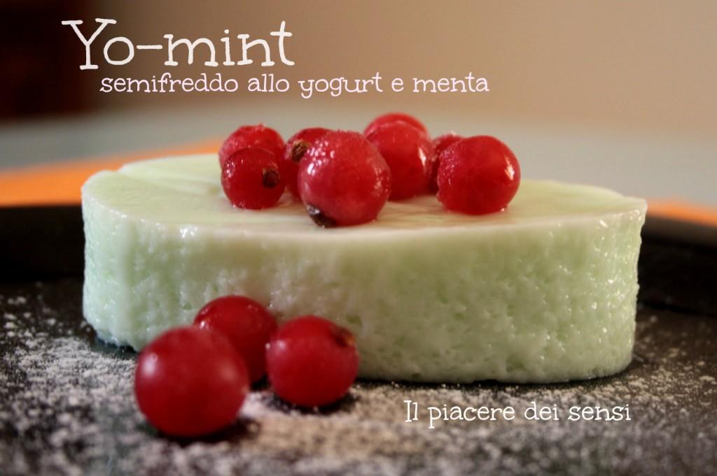 Semifreddo allo yogurt e menta
