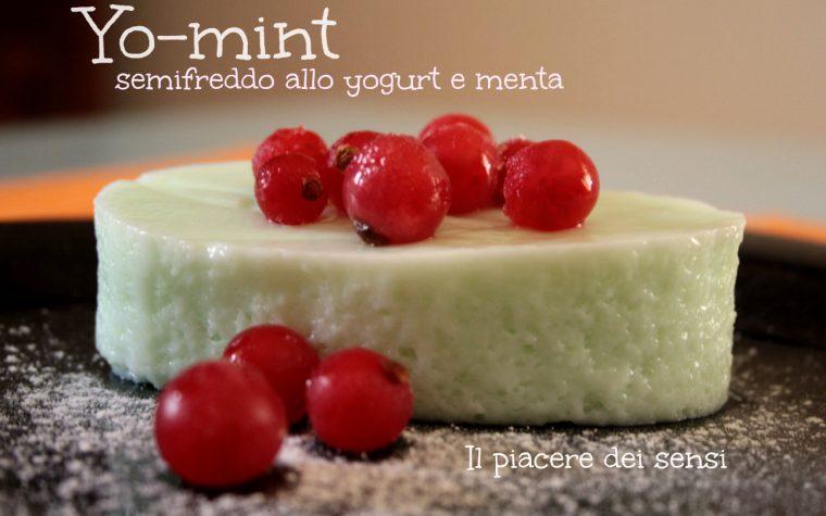 Yo-mint – Semifreddo allo yogurt e menta