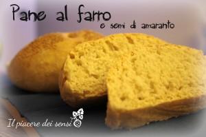 Pane al farro con semi di amaranto