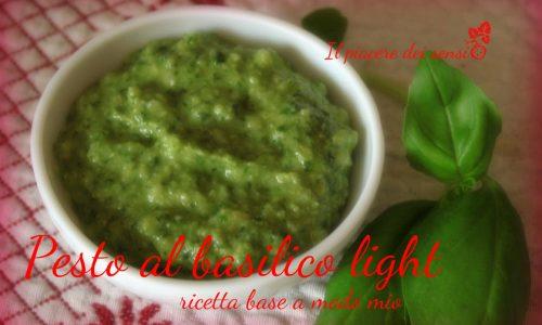 Pesto al basilico senza aglio – ricetta base a modo mio