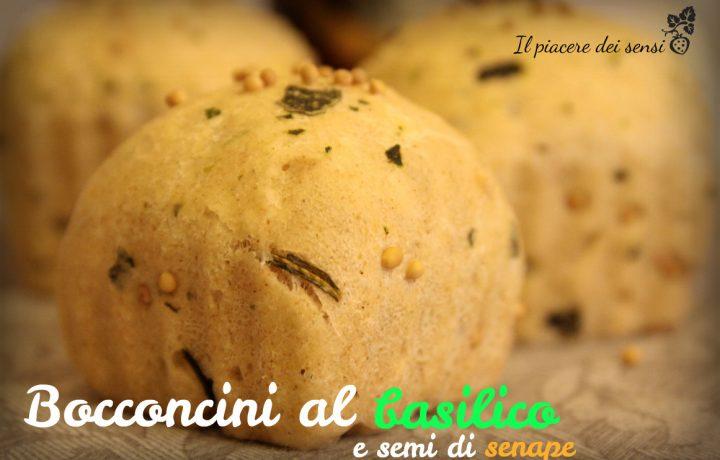 Bocconcini al basilico e semi di senape