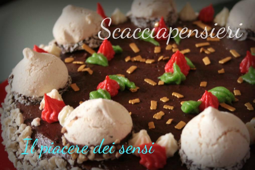 Scacciapensieri - torta farcita con crema al burro e philadelphia