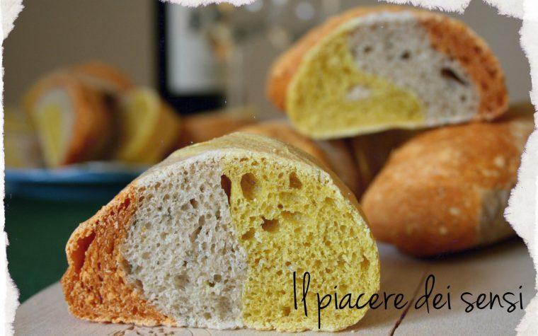 Pane ai tre colori