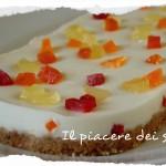 Semifreddo con panna cotta e frutti canditi - Finta cassata