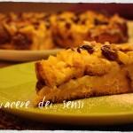 Torta con pandoro, mele e uvetta - Pandomeletta