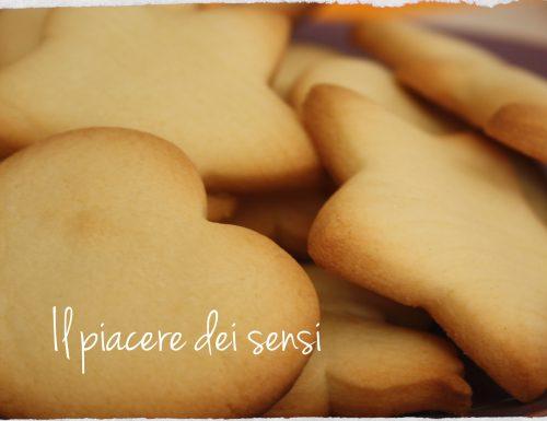 Biscotti con farina di riso al profumo di vaniglia