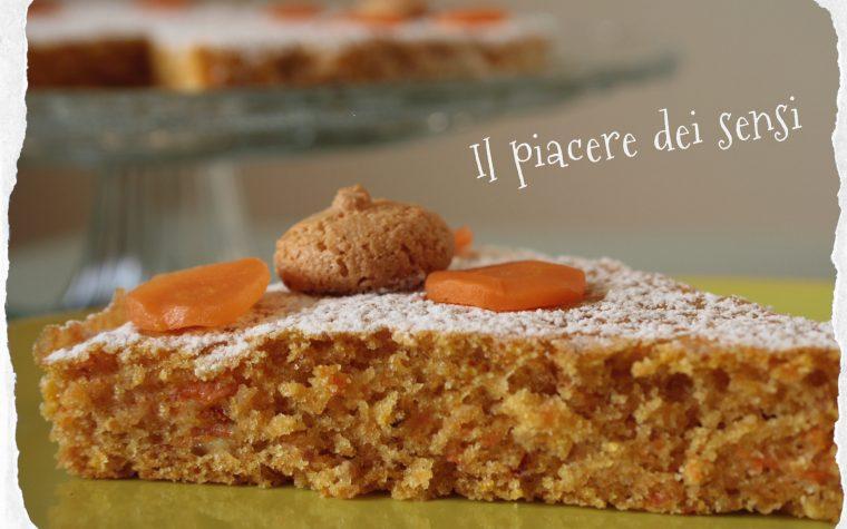 Torta con carote e amaretti – Carrot cake