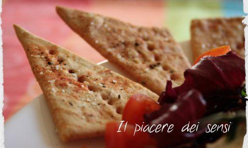 Crackers home-made (senza lievito)