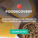 Foodscovery: prodotti tipici sulla tua tavola