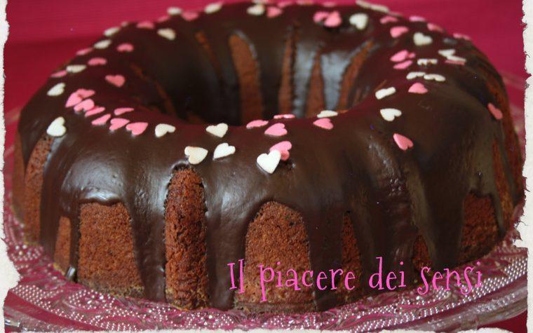 Ciambella al cioccolato con farina di mandorle (senza burro nè lievito)