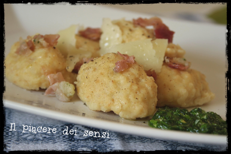 gnocchi di pane calhetas occitane