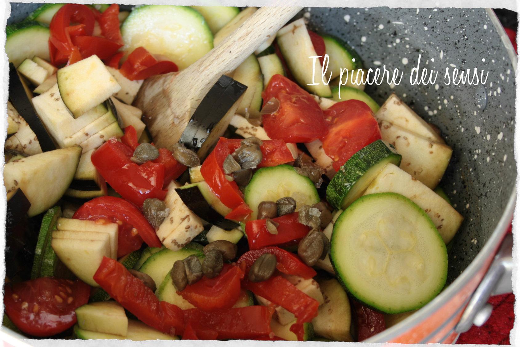 timballini di cous cous alle verdure