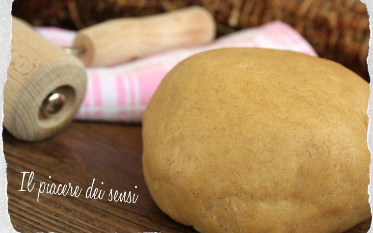 Pasta frolla con farina di farro integrale