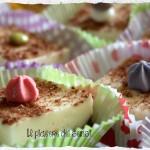 Mini-cheesecake con mascarpone e cioccolato fondente