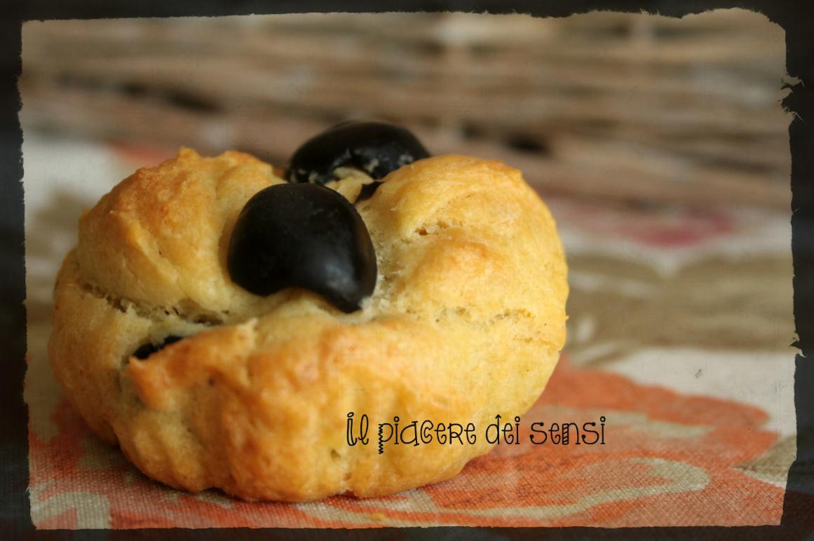 muffins con olive