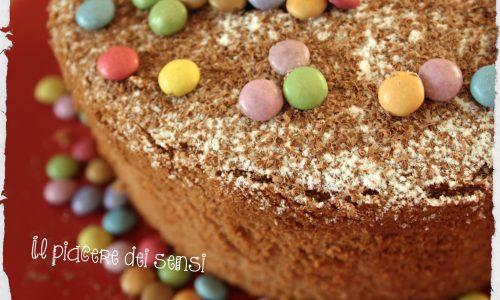Coffee chiffon cake – Chiffon cake al caffè (stampo Wilton 17,7 cm x 11,4 cm)