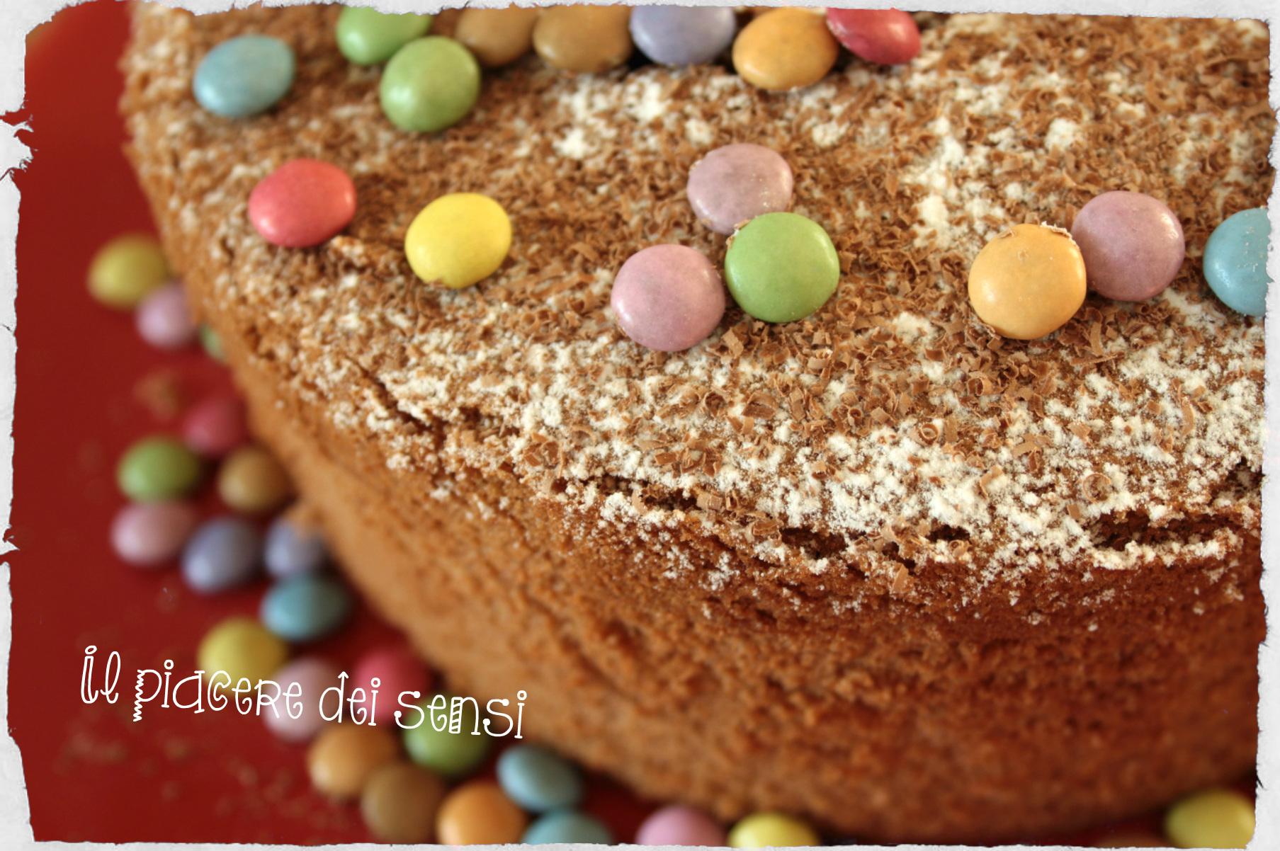 Coffee chiffon cake - Chiffon cake al caffè