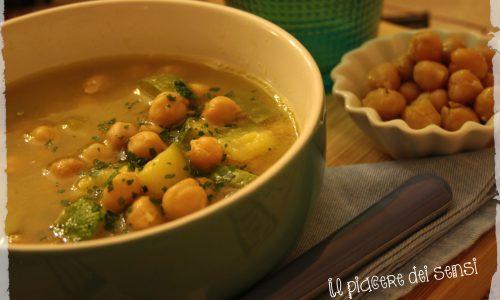 Zuppa di ceci e zucchine – la zuppa scalda cuore