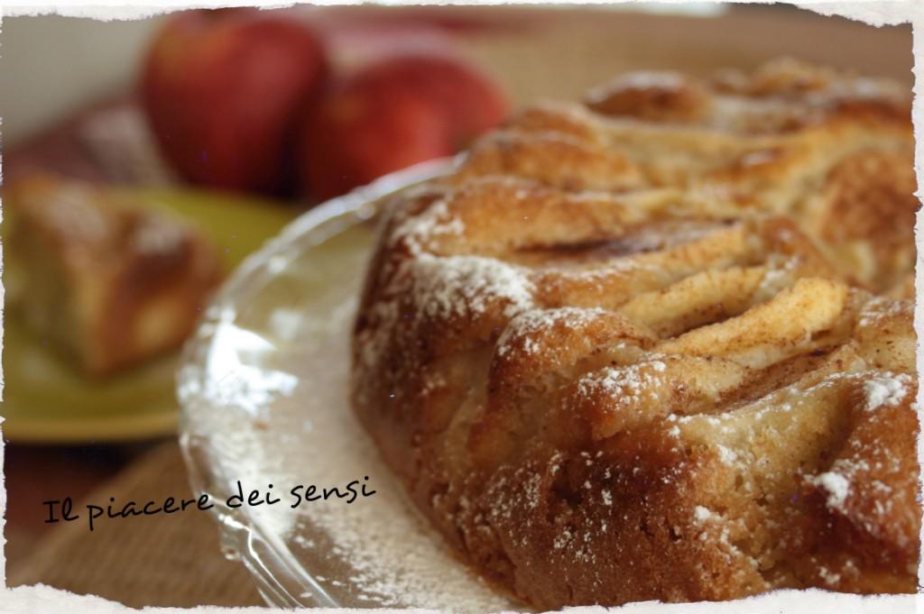 Torta Laurina - torta di mele allo zenzero e cannella