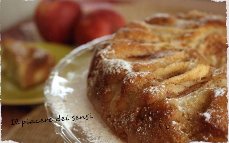 Torta Laurina – torta di mele allo zenzero e cannella