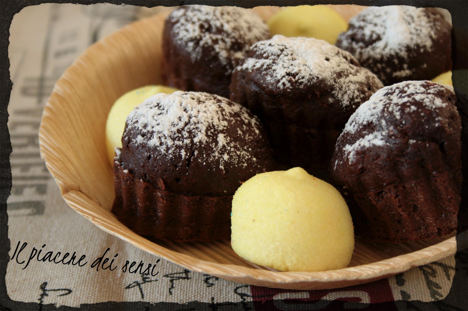 tortine al cacao