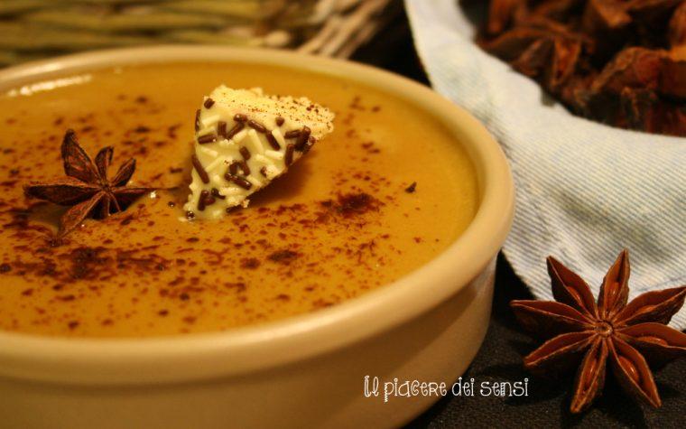 Crema al caffè con anice stellato: il fresco dessert delle feste natalizie