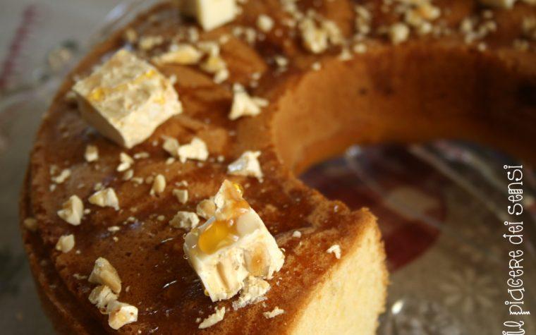 Ciambella al torroncino e miele