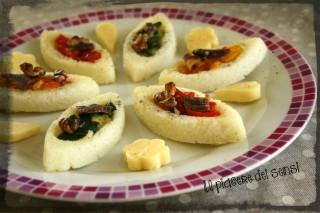 Barchette di polenta