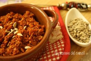 Pesto di pomodori secchi con semi di girasole