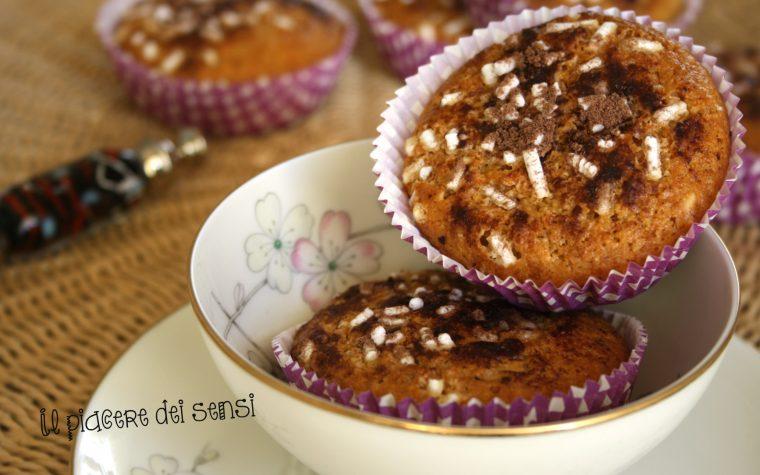 Muffins ai cantuccini e yogurt
