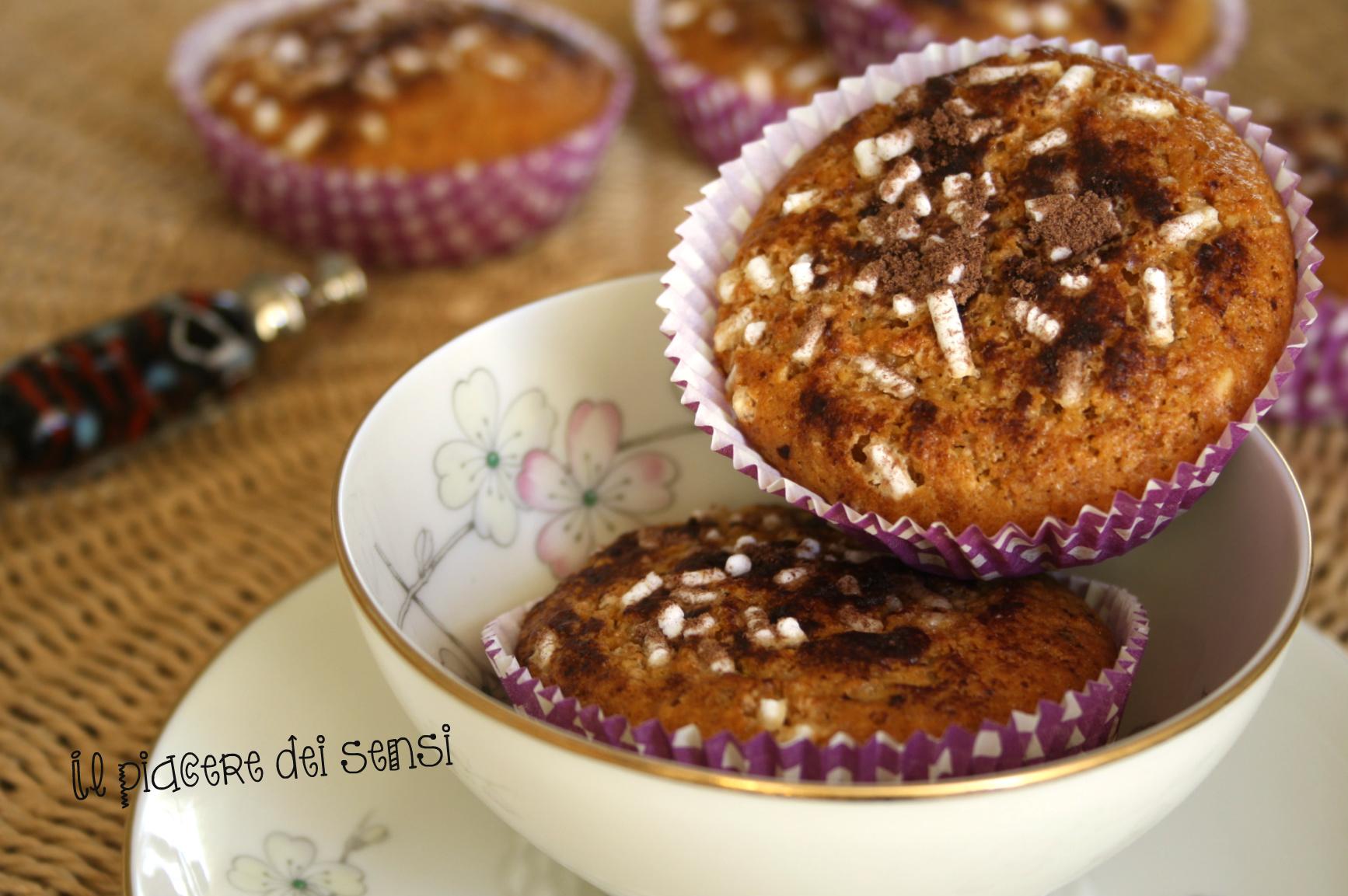 Muffins ai cantuccini