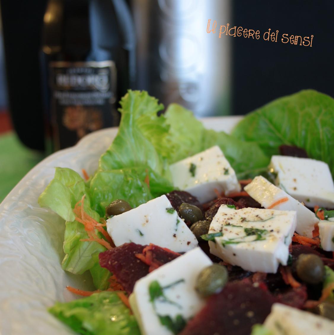insalata con primo sale