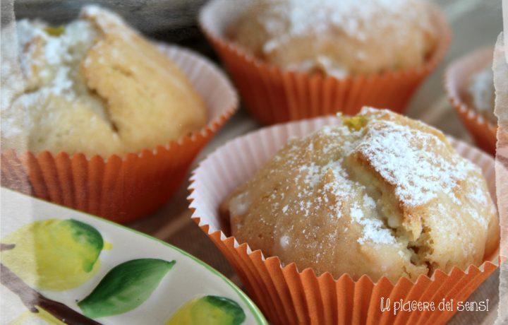 Muffins al lime e zenzero fresco