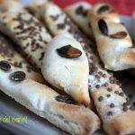 Grissini ai semi vari - ricetta con esubero di pasta madre