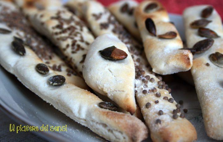 Grissini ai semi vari – ricetta con esubero di pasta madre