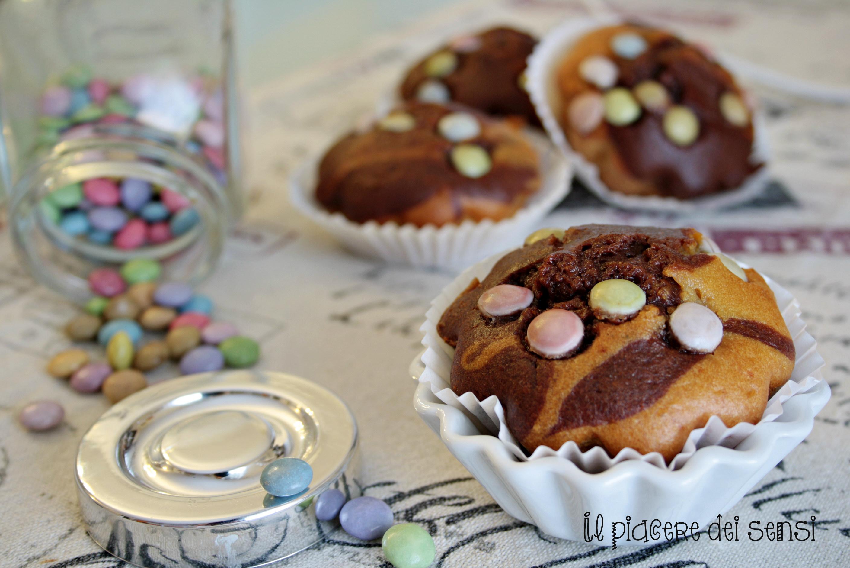 muffins bicolori