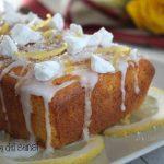 Plumcake al limone e meringhe